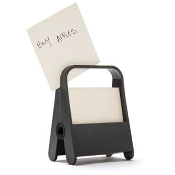A-Clip Memo Holder Black