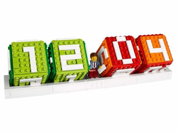Lego Calendar Assembled