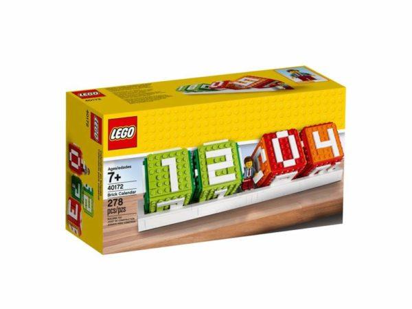 Lego Calendar Packaging