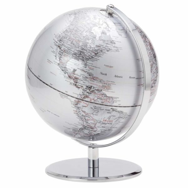 "Silver Globe 9.5"""