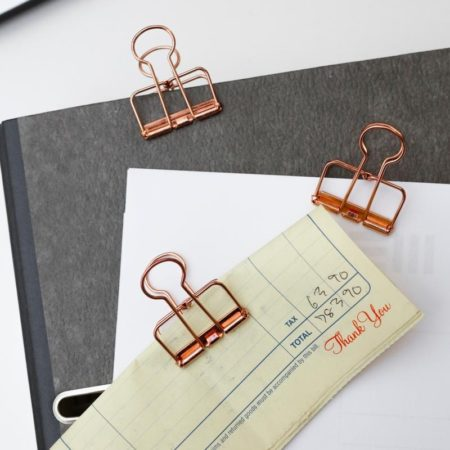 Kikkerland Copper Wire Clips