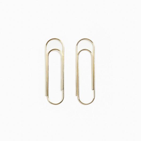Gianr paper clips Poketo Brass