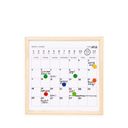 Mini Whiteboard Calendar Kikkerland