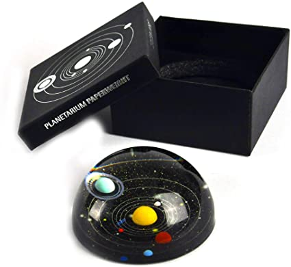 Planetary Paperweight Packaging