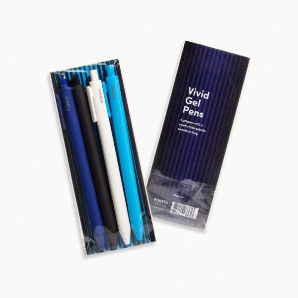 Cool Color Set Packaging Poketo Gel Pens Rollerball 0.5mm