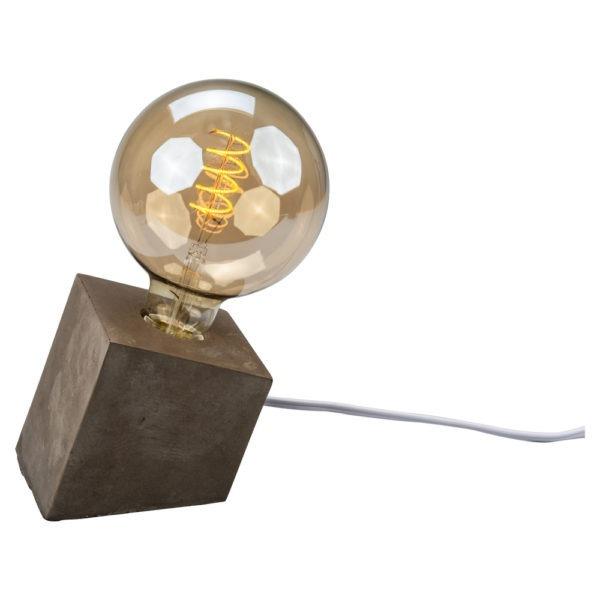 Cube Concrete Desk Lamp