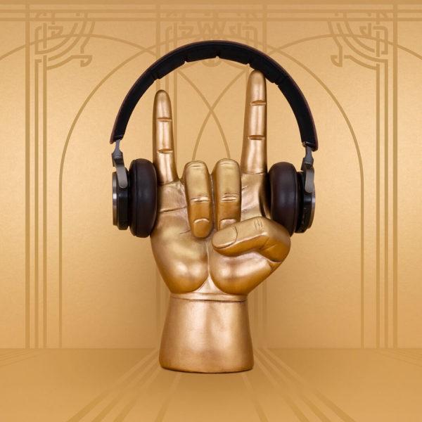 Rock On headphone stand